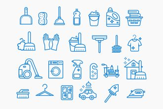 Free Cleaning Services Icons