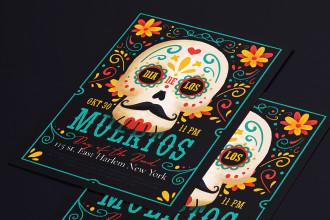 Free Dia De Los Muertos Flyer Template