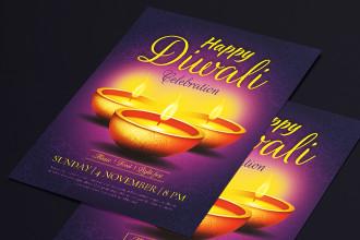 Free Diwali Flyer Templates