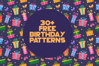 30+ Free Birthday Patterns