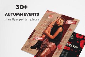 30+ Autumn Events Flyer Templates